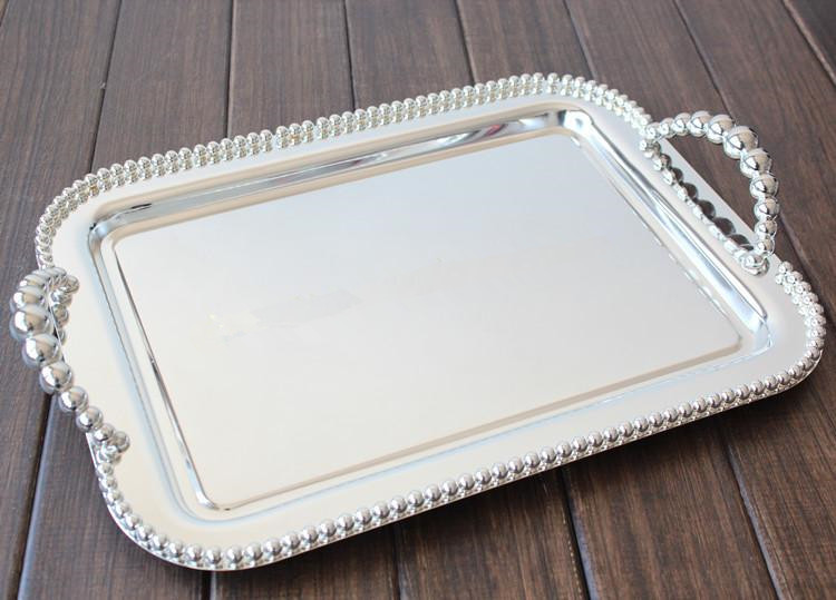 aliexpresscom buy silver color tray wedding supplies 4228cm from reliable tray products suppliers on elite life store - Color Tray