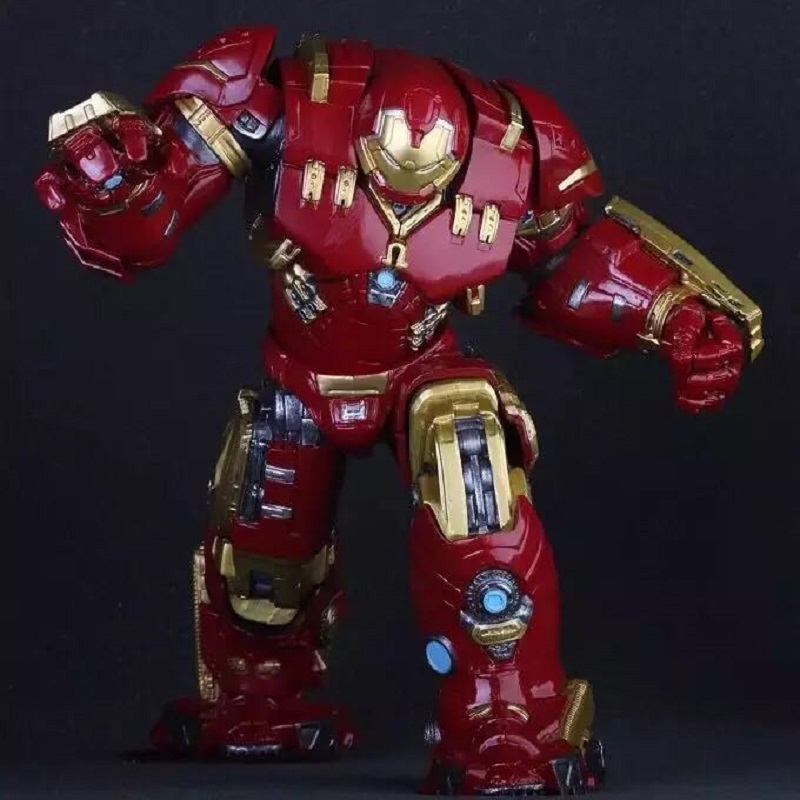 The Avengers 2 Iron Man Hulkbuster Armor MK44 Striking appearance 25cm Light LED PVC Action Figure ToysThe Avengers 2 Iron Man Hulkbuster Armor MK44 Striking appearance 25cm Light LED PVC Action Figure Toys