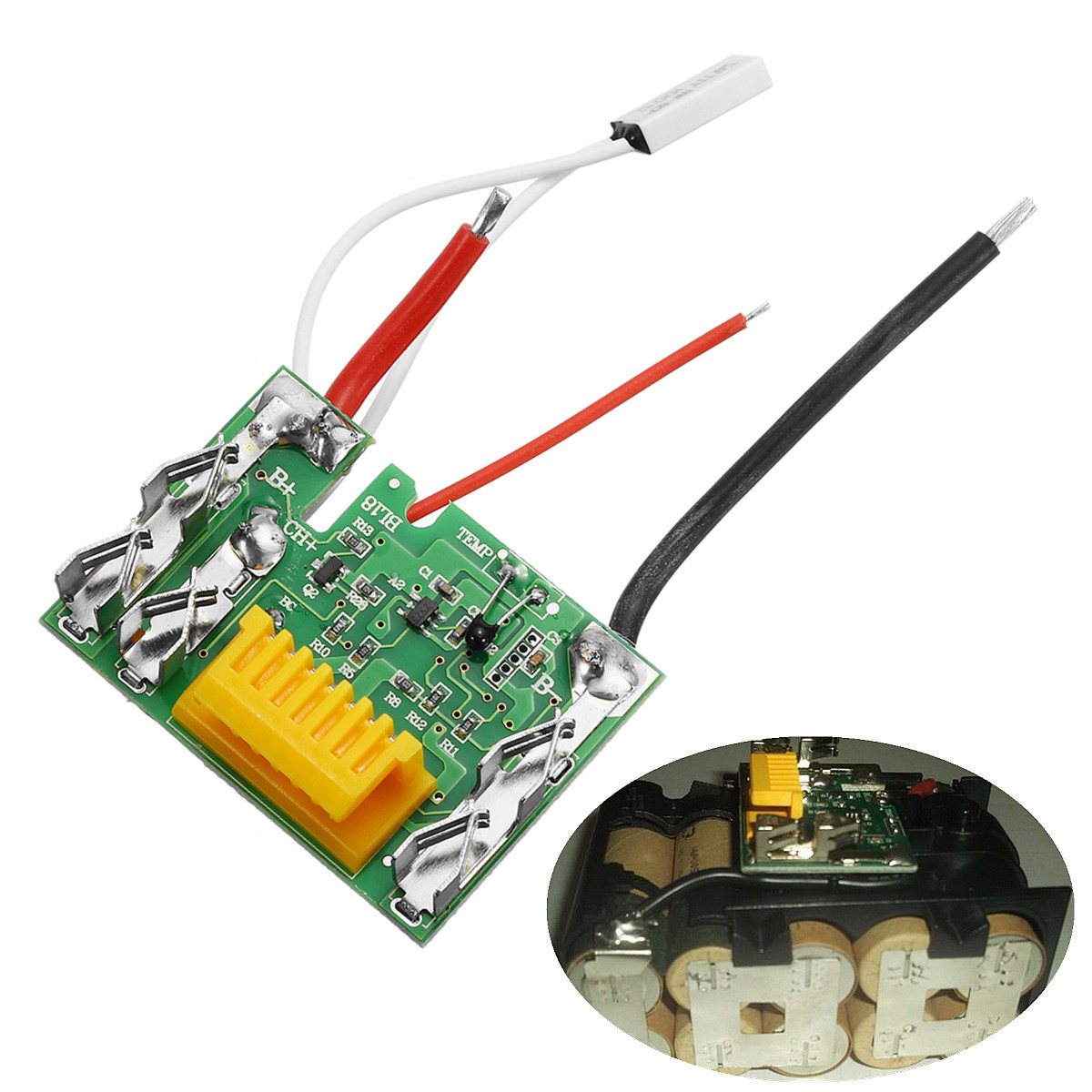 18V PCM PCB Li-ion Lithium Battery Protect Circuit Module Board for Makita Drill Chip Electric Tools Over Charge Short Circuit