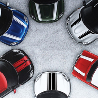 Hood Stripes Car Stickers Decals Car Styling For MINI Cooper S Countryman Clubman Paceman R56 R60