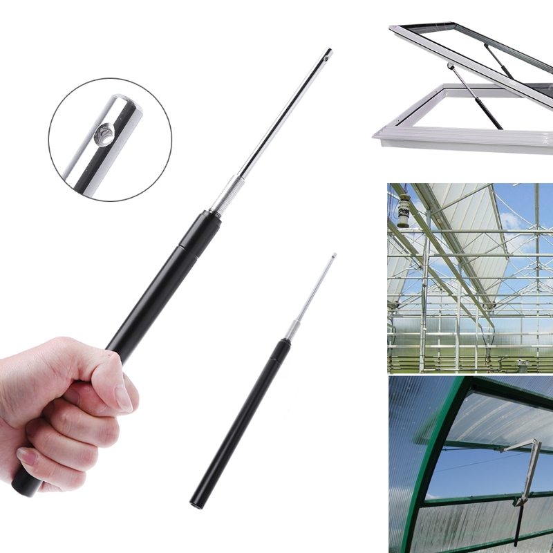 OOTDTY Greenhouse Window Opener Solar Heat Sensitive Window Opener ventilation GreenHouse Window Opener Oct29 Drop Ship durable automatic window opener greenhouse greenhouse roof window opener remote controlled