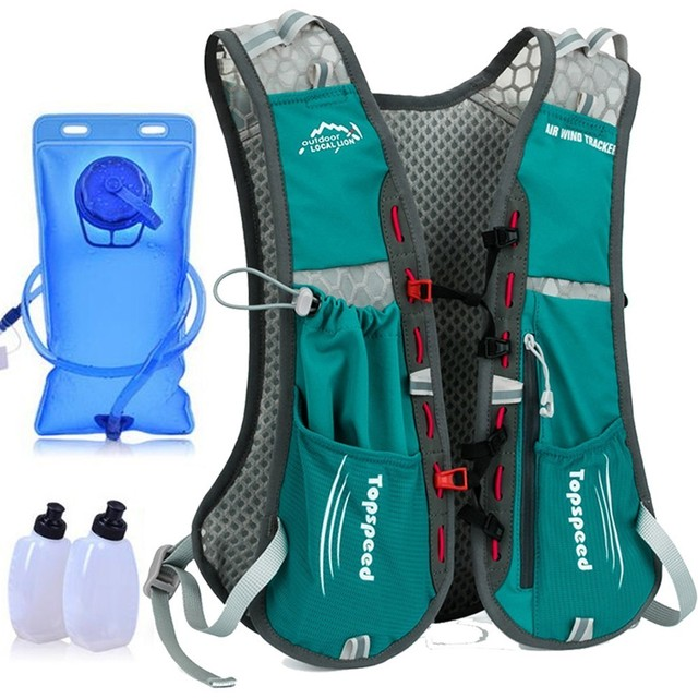 Men Women Sport Running Backpack Hydration Vest Pack Outdoor Racing Marathon Jogging Backpacks Cycling Camelback Trail Water Bag