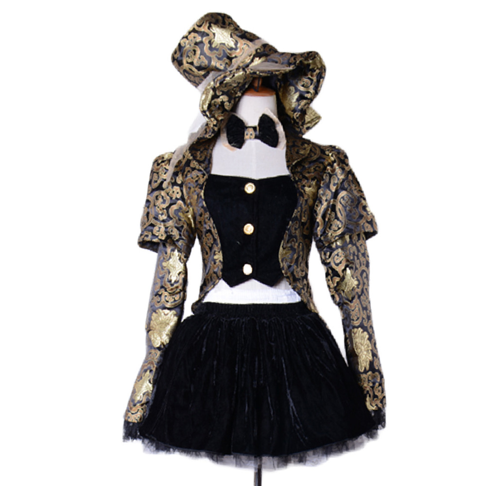 mad hatter costume women adult alice in wonderland costume adult party cosplay halloween costumes for women dress wholesale