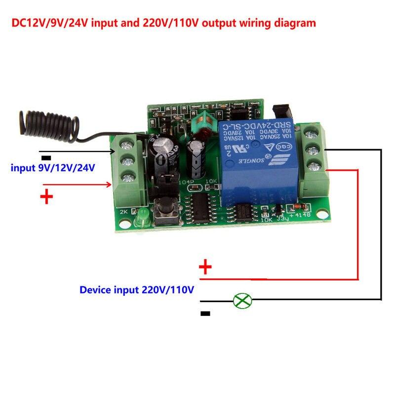 Interruptores e Relés rf sem fio interruptor de Interruptor : Controle Remoto