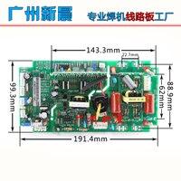 Çift güç inverteri kaynakçı Zx7-250s/315S invertör panosu IGBT kaynakçı üst kurulu devre