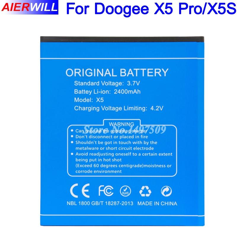 2400 mAh Batterie Pour Doogee X5 X5 X5 Pro Bateria Batterij Accumulateur AKKU Haute Qualité