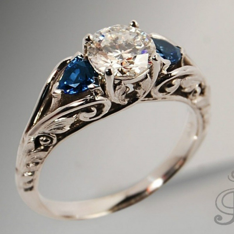 Vintage Wedding Rings For Women Two