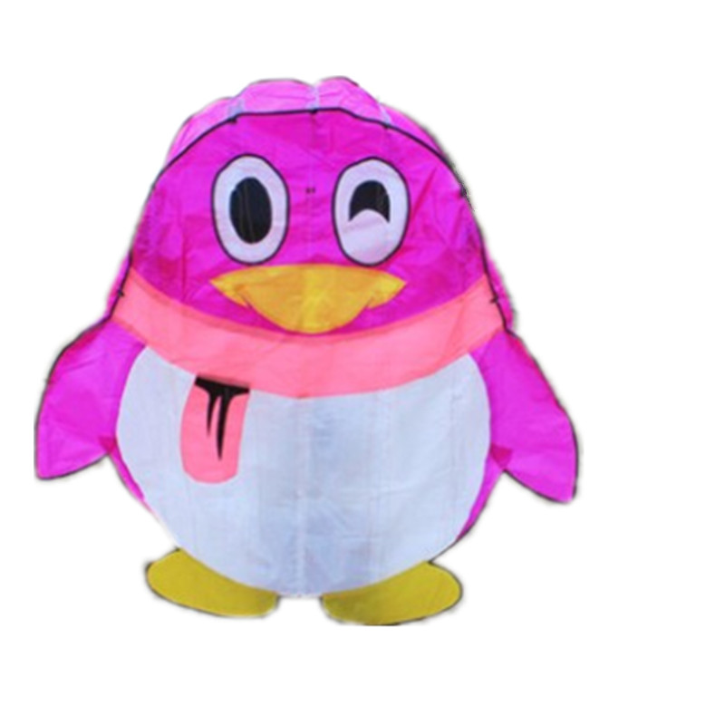 Outdoor Fun Sports New High Quality Power Kite Software Boy Penguin kites With String Good Flying