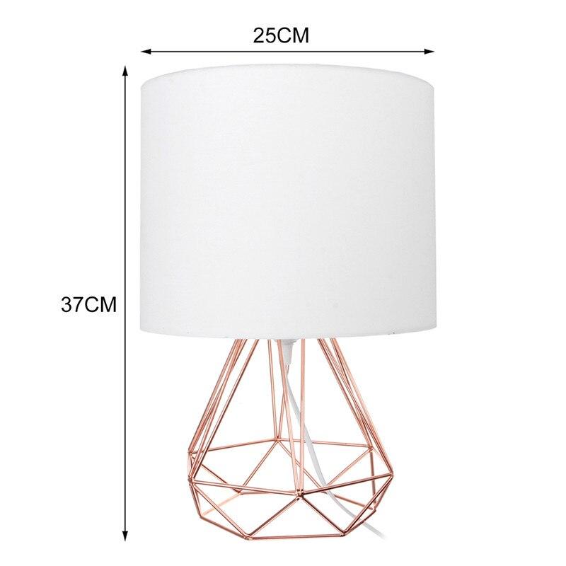 da lâmpada decorativa retro sombra luzes cabeceira