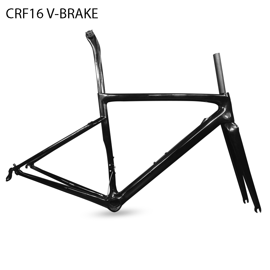 2019 taiwan T1000 Full carbon road Racing carbon bike bicycle frame Light weight with logo XDB DPD shipping available CRF16(China)