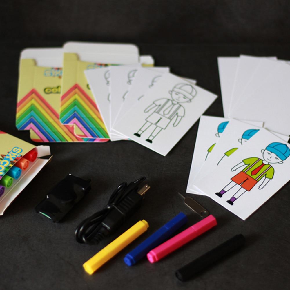 Stylo couleur prédiction/couleur Match Mini tours de magie drôle scène Magia mentalisme Illusions accessoire accessoires de Gimmick pour magiciens