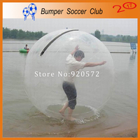 Fabricante personalizar! inflável de plástico transparente esfera esfera de passeio da água bola de água humano andando sobre a água bola transparente