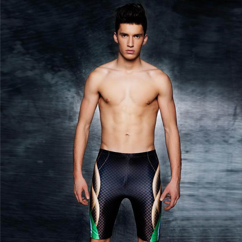 27add7b00cf35 2019 Men Swimwear Arena Bather Pool Trunks Sunga Tight Sportswear Surf Swim  Bathing Sport Suit Shorts