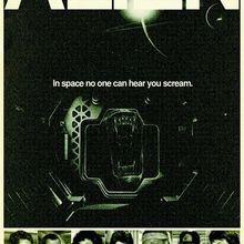 Sci-fi alienígena Pacto Retro Vintage propaganda de película carteles Kraft cartel lienzo cuadro adhesivo para pared decoración del hogar regalo