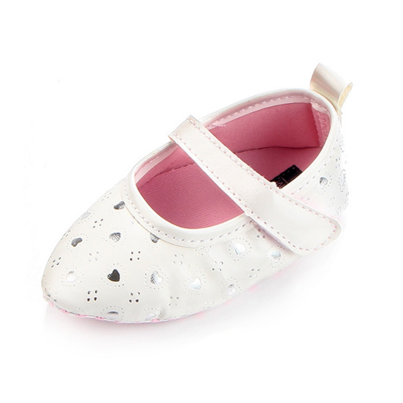 Fashion Kids First Walkers Casual Princess Newborn Shoes Love Print Cute Baby Girls Lovely Shoes