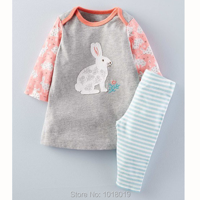 New 2017 Brand Quality 100% Cotton Baby Girl Clothes Set Long Sleeve Children Clothing Bebe Girls Dress and Leggings Clothes Set brand quality 100% cotton 2017 new baby girls dresses summer children clothing kids clothes girls casual dress baby girl clothes
