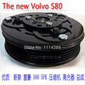 automotive air conditioning compressor clutch FOR the new Volvo S80 PV5 114MM auto ac cooling pump clutch coil pulley