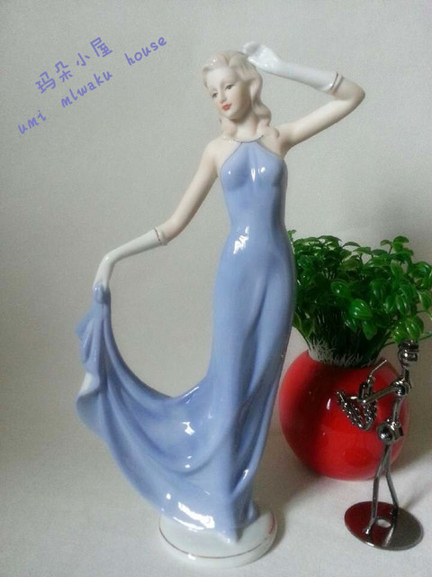 Fashion ceramic crafts decoration home accessories new house decoration female