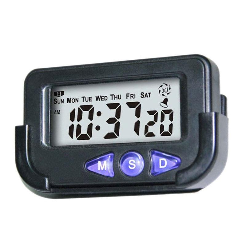 Portable Pocket Size Digital Electronic Travel Alarm Clock Despertador Digital Led Clock For Car Electronic Desk Clock