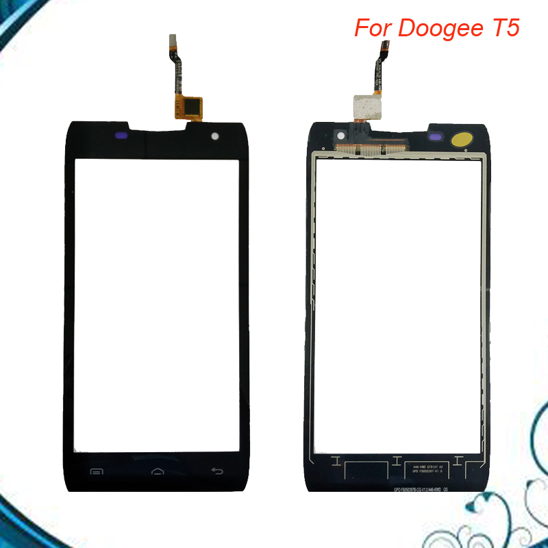 5.0 For Doogee T5 Touch Screen Panel Perfect Repair Parts +Digitizer Sensor Replacement Free shipping IN Stock