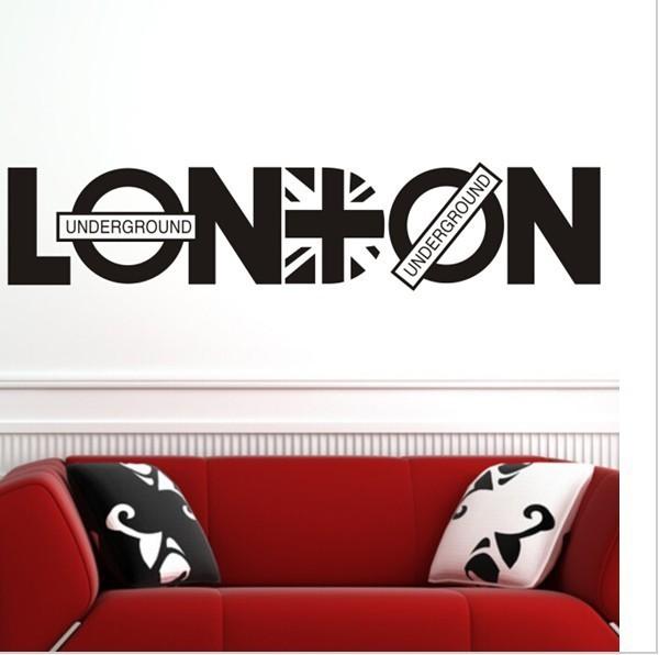 London Britpop Wall Decoration Sticker