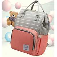Baby Diaper Bag With USB Interface Large Capacity Baby Bag For Stroller Waterproof Backpack Nursing Bag For Baby Care