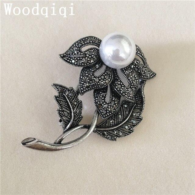Woodqiqi Wholesale Brooch Rhinestone Bouquet Wedding Pin Invitation