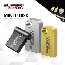 USB 2.0 memory stick Flash usb gb 8 4 gb gb gb 64 32 16 gb 128 gb Super mini metal usb flash drive pendrive pequeno pen drive U disk(China)