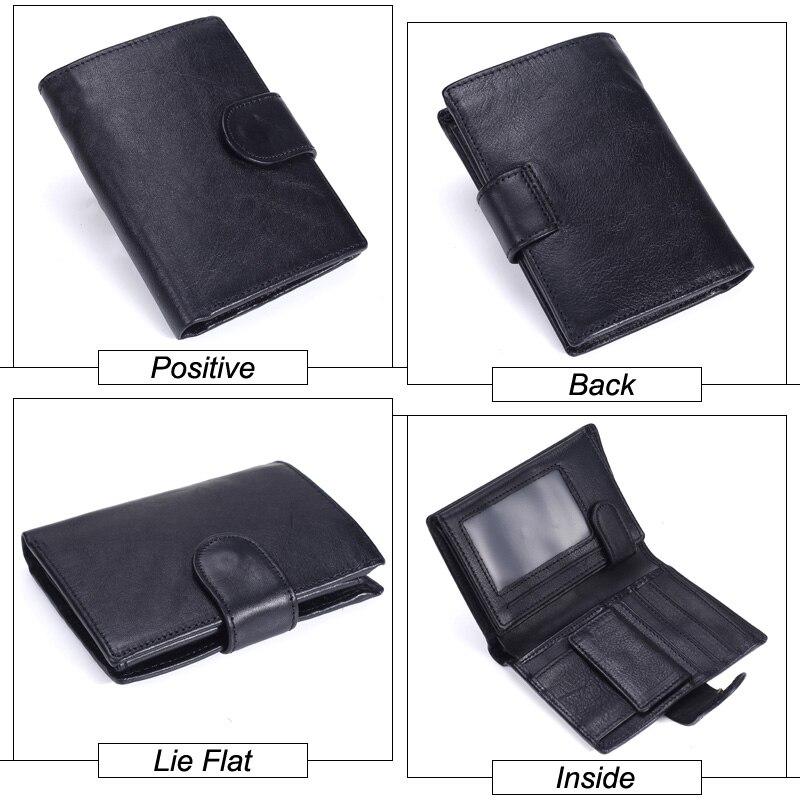 MISFITS Vintage Men Wallet Genuine Leather Short Wallets Male Multifunctional Cowhide Male Purse Coin Pocket Photo Card Holder Men Men's Bags Men's Wallets cb5feb1b7314637725a2e7: Brown|Coffee|Dark Brown|black