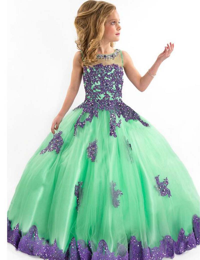 Online Get Cheap Pageant Dresses for Girls Glitz -Aliexpress.com ...