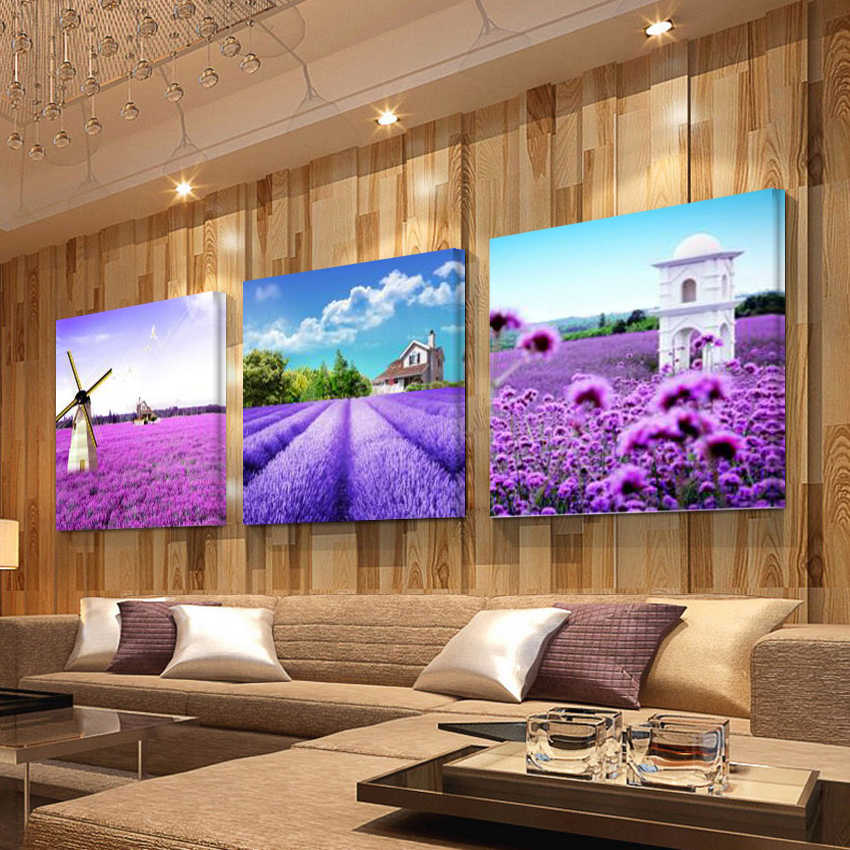 No Frame pictures Landscape Pictures Canvas Painting Decorative Pictures Canvas Painting Wall Pictures Paintings For Living Room