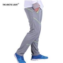 THE ARCTIC LIGHT 2018 Man Hiking climbing Fishing Pants Anti UV Breathable Quick drying Professional Plus Size 3XL