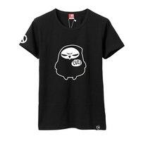Reaper T-shirt Paar Korte Mouw T-shirt Katoen Reaper Zwart Unisex T-Shirt Leuke Cosplay Clthing Zomer Tops Sterven T-shirt