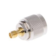Złącze koncentryczne RF złącze UHF do SMA PL259 SO239 UHF męskie do SMA żeńskie gniazdo tanie tanio OOTDTY CN (pochodzenie) NONE Coaxial Adapter
