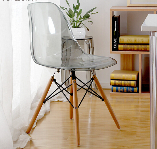 Merveilleux MAV Furniture Modern Designer Iconic Plastic Chair, Clear/Transparent Seat,  Free Shipping By