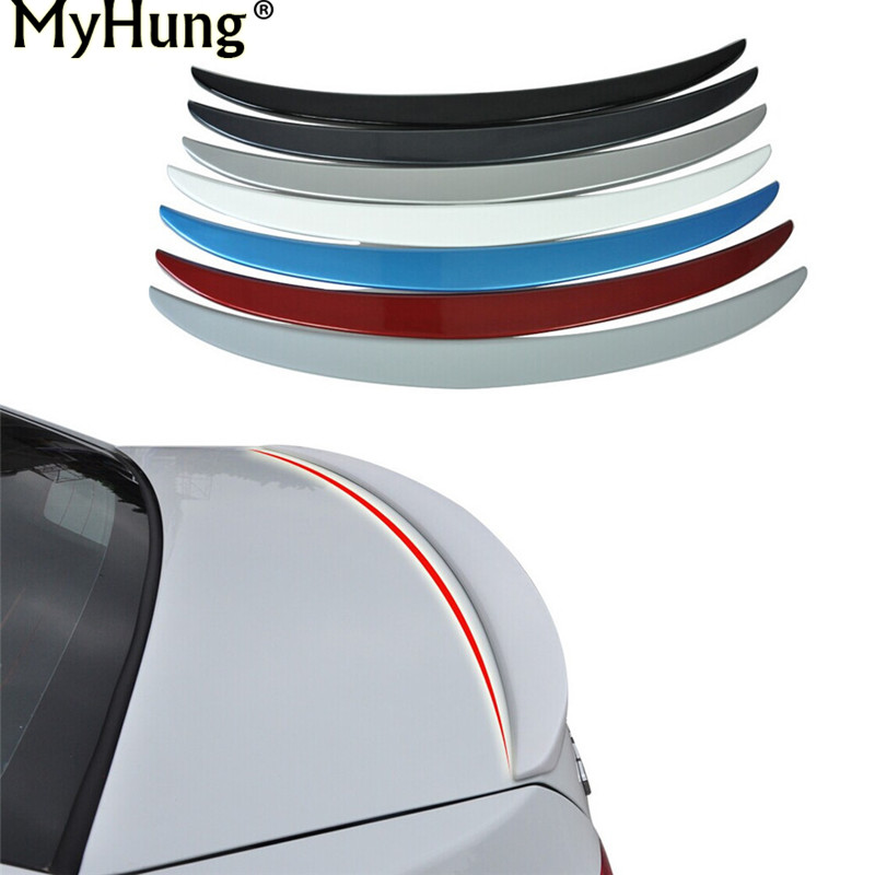 Car Styling Car Accessory Rear Trunk Lid Tail Rear Trim Tail Spoiler Fit For Chevrolet Cruze 2009 2010 2011 2012  ABS Chrome1pc hot car abs chrome carbon fiber rear door wing tail spoiler frame plate trim for honda civic 10th sedan 2016 2017 2018 1pcs