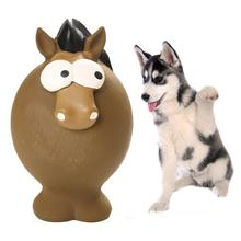 1 Pc Horse Rabbit Mouse Shape Squeaker Pet Dog Puppy Chewing Teeth Cleaning Play Toy