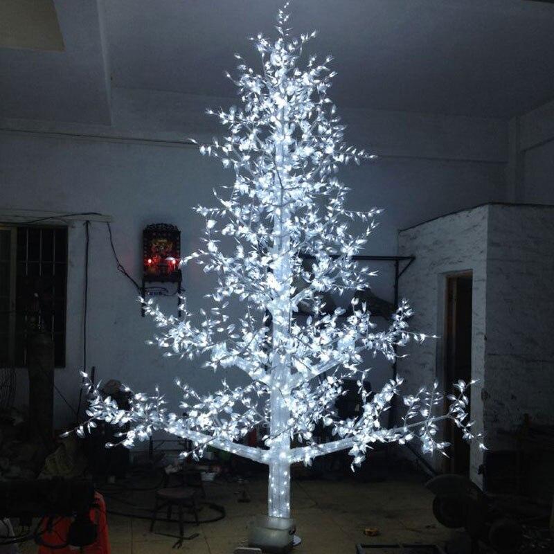 4 метров 3456 светодиодов лампочки Новогодние украшения елки Наружное освещение из Китая сад освещения поставщиков