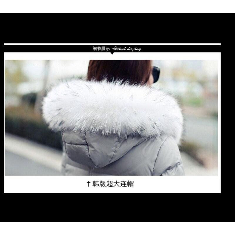Damski dół kurtki zimowy płaszcz pogrubienie w ciąży płaszcz - Ciąża i macierzyństwo - Zdjęcie 4