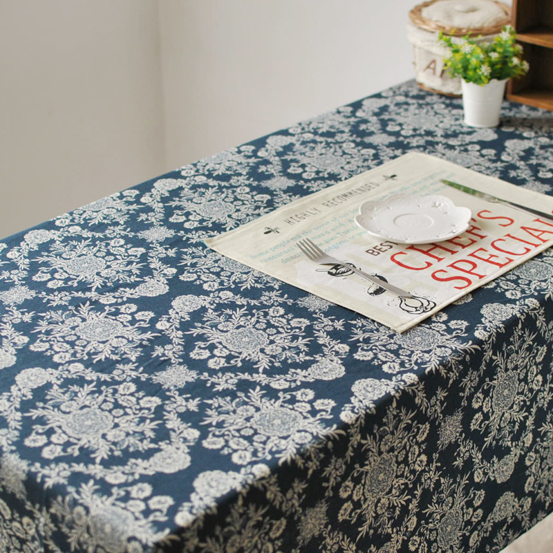 european retro palace luxury home tablecloth fabric table. Black Bedroom Furniture Sets. Home Design Ideas
