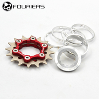 FOURIERS Bicycle Freewheel Single Speed Freewheel BMX Sprocket Gear Bicycle Accessories 16/17/18/19/20/21/22/23T Bike Freewheel