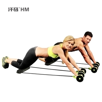 ctional body-building device abdominal wheel puller pull rope comprehensive AB sculpting body of men and women available