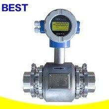 Нержавеющая сталь/тип группы здоровья/электромагнитный расходомер/молоко, фруктовый сок DN25 DN32, DN40, DN50