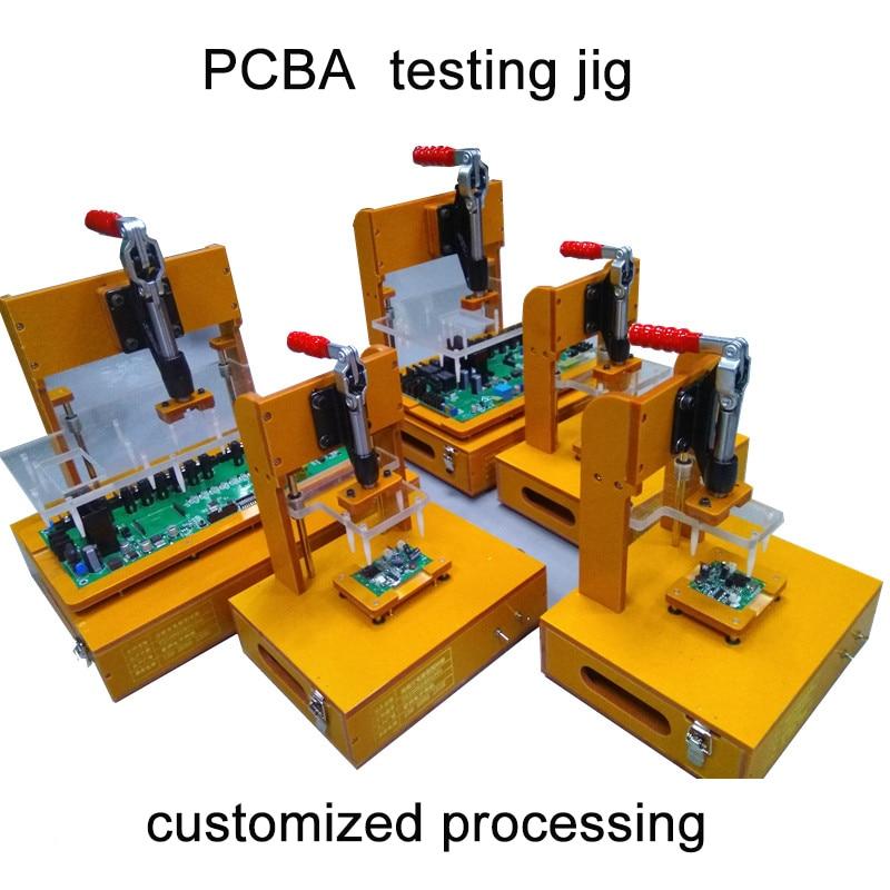 цена на PCBA PCB testing jig fixture circuit board function testboard test fixture electronic tooling test fixture