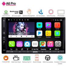 ATOTO A6 2 Din Android автомобильный gps стерео плеер/2x Bluetooth/A6Y2721PRB-G/управление жестами рук/Indash Мультимедиа Радио/WiFi USB