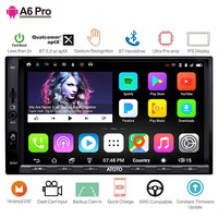 ATOTO A6 2 Din android автомобильный gps стерео плеер/2x Bluetooth/A6Y2721PRB G/руки жест Управление/Indash мультимедиа Радио/WiFi USB
