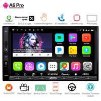 ATOTO A6 2 Din nawigacja gps do samochodu z androidem odtwarzacz stereo/2x Bluetooth/A6Y2721PRB-G/gestów rąk pracy/Indash multimedialne radio/wifi usb