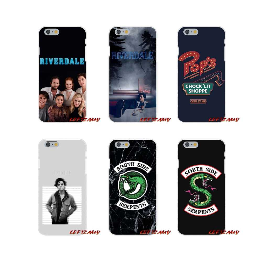 Fashion Phone Case For iPhone X XR XS MAX 4 4S 5 5S 5C SE 6 6S 7 8 Plus ipod touch 5 6 Riverdale Series Cole Sprouse The Fashion