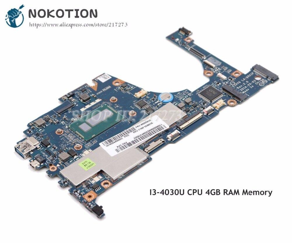 NOKOTION For Lenovo yoga 2 13 Laptop Motherboard 13.3 inch SR1EN I3-4010U CPU ZIVY0 LA-A921P Full testedNOKOTION For Lenovo yoga 2 13 Laptop Motherboard 13.3 inch SR1EN I3-4010U CPU ZIVY0 LA-A921P Full tested