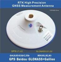 High precision RTK GNSS antenna ZED F9P GPS Antenna CORS Antenna TNC 3.3 18V High gain measurement GNSS GPS GLONASS GALILEO BDS